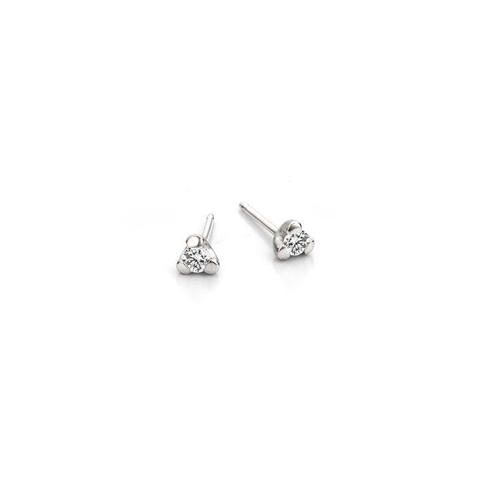 N ° 257B set zilveren oorbellen