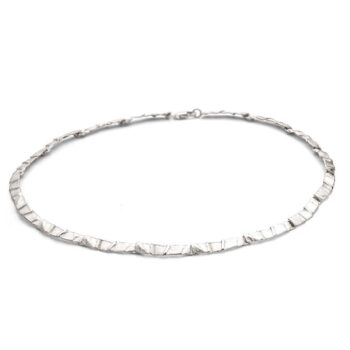 N 48 Silver necklace