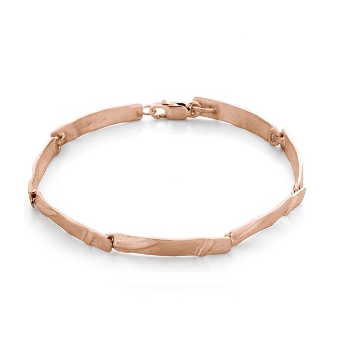 N° 73 Rose Gold Link Bracelet