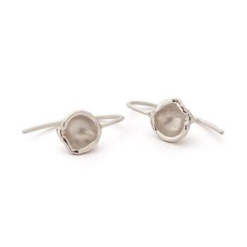 N° 68D gold earrings