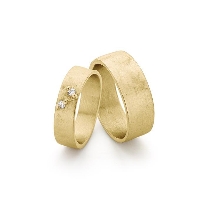 N ° 6_2 Gouden trouwringen