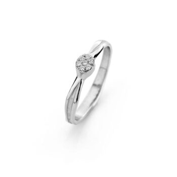 N° 207_7 gold engagement ring