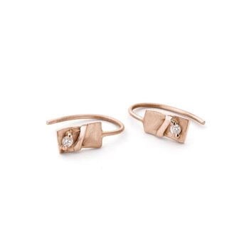 N° 48D gold earrings