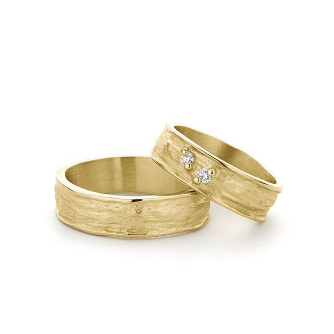 N ° 48_2 gouden trouwringen