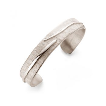 White Gold Bangle N° 016