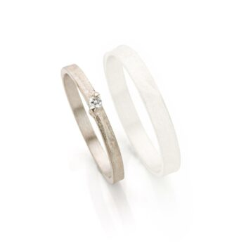 White gold wedding rings for women with diamonds
