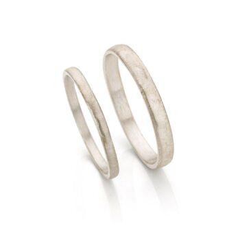 White gold wedding rings N° 055_0