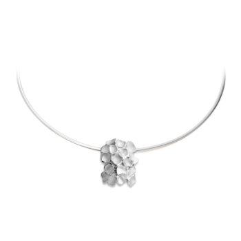 N233 Memorial necklace in silver