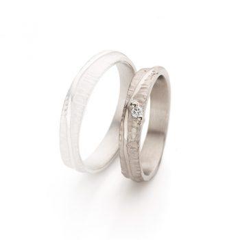 White gold wedding ring N° 047 lady's ring