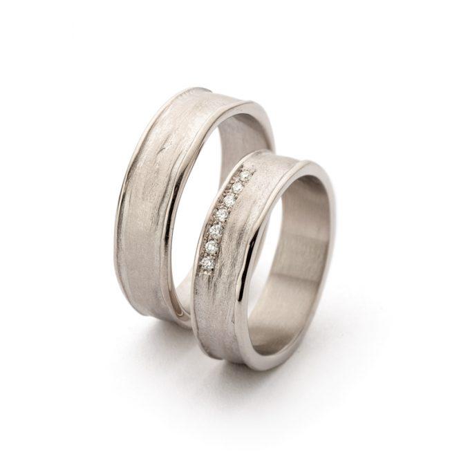 White gold wedding rings N° 9_7