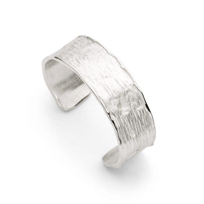 Silver bangle N° 195