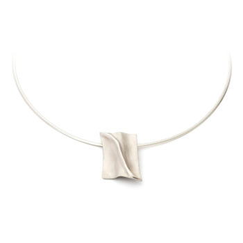 White gold memorial necklace N°227