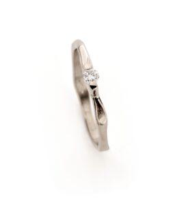 White gold engagement ring N° 238