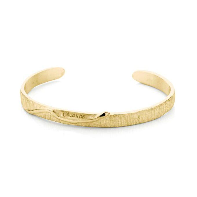 Geelgouden armband met gravering