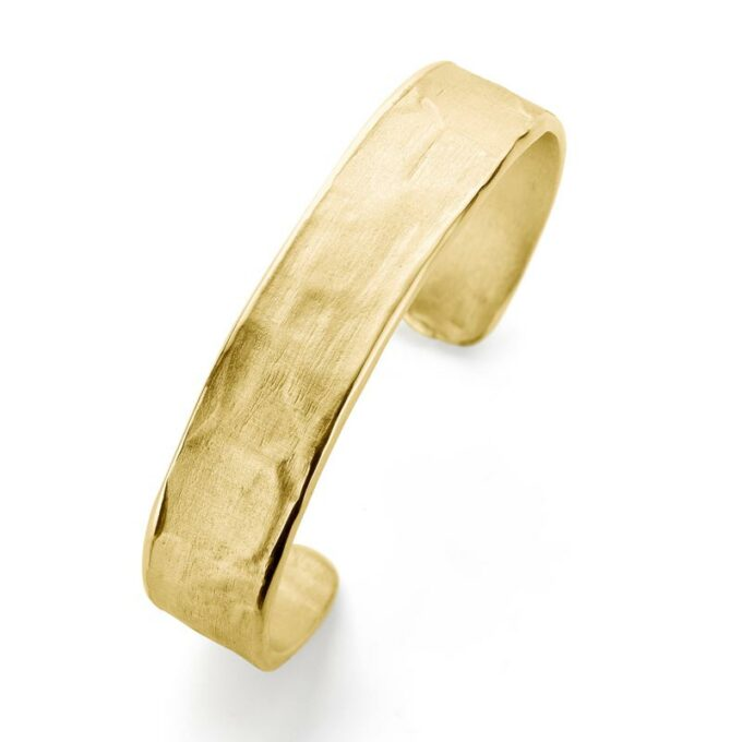 Yellow gold bangle
