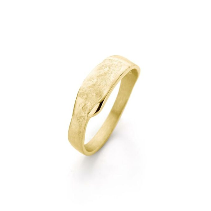 Geelgouden ring