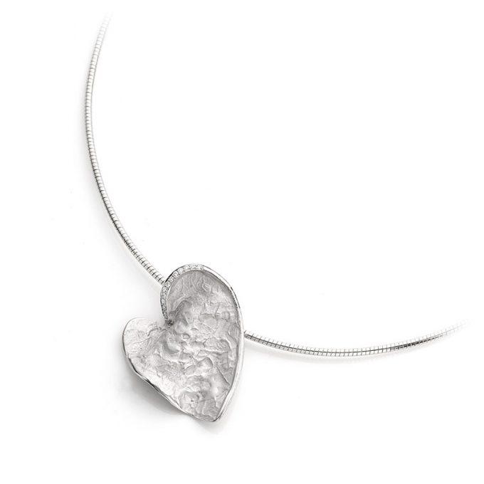 Silver memorial necklace N° 226