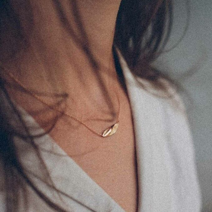 N° 053 rosé gold necklace