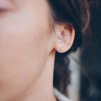 N° 054 set rose gold earring