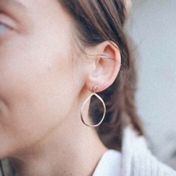 N° 056 rose gold earrings