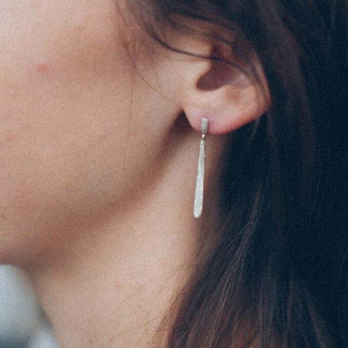 N° 057 Silver earrings