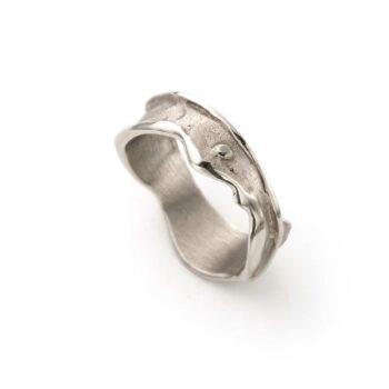 N° 123 White Gold Ring