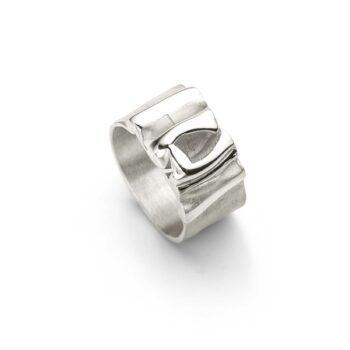 N° 142 Zilveren Ring