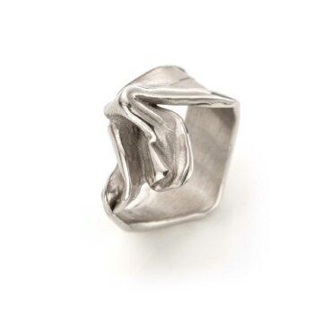 N° 143 White Gold Ring