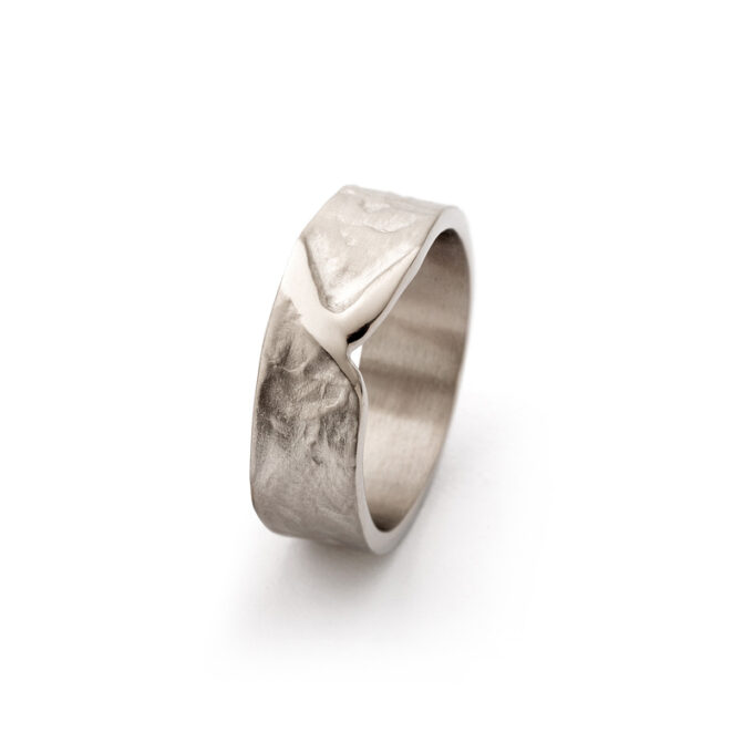 N°-20 Champagne Gold Mens Ring