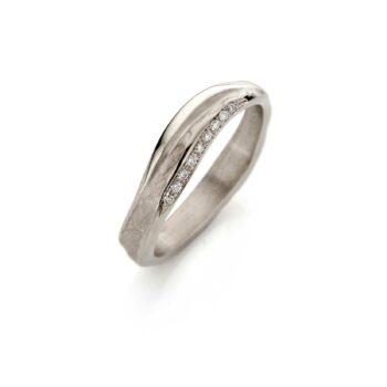N° 216 White Gold Ring