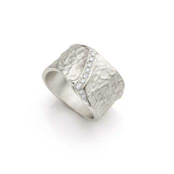 N° 24 STR Zilveren Ring
