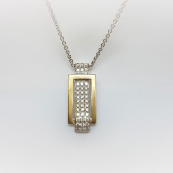 N° Omi White Gold Necklace
