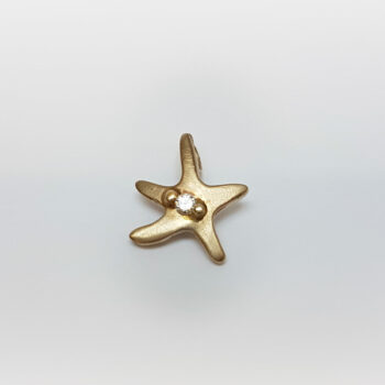 N° Star White Gold Necklace