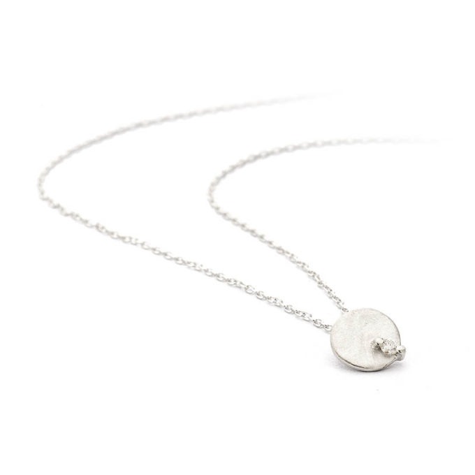 Silver necklace N° 104-A-SET-1