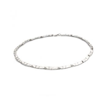 Silver necklace N° 48