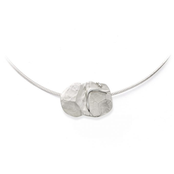 Silver necklace N° 031