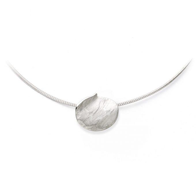 Zilveren halsketting N° 032