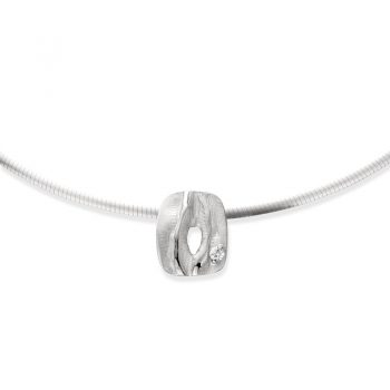Zilveren halsketting N° 033