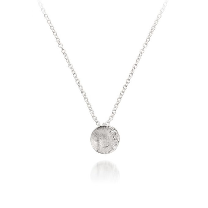 Silver necklace N° 104 A-Set4