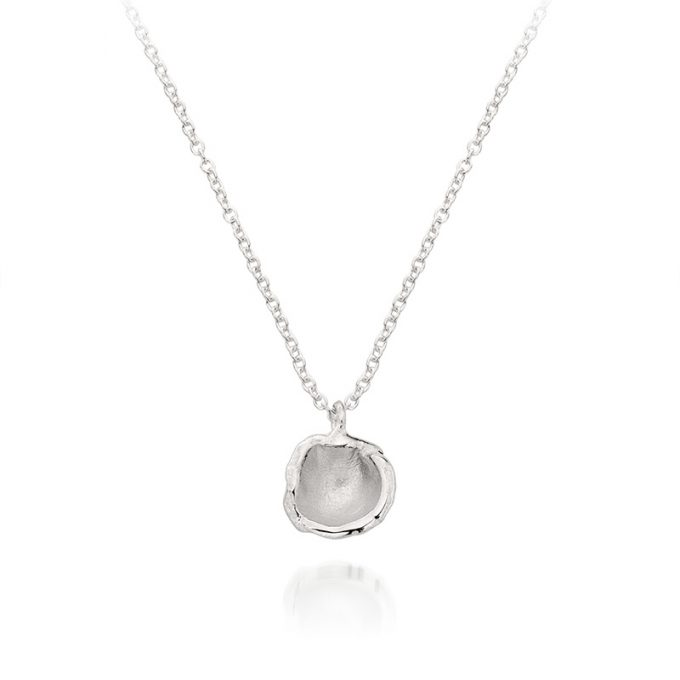 Zilveren halsketting N° 68