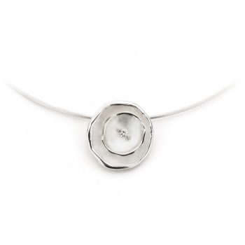 Zilveren halsketting N° 126