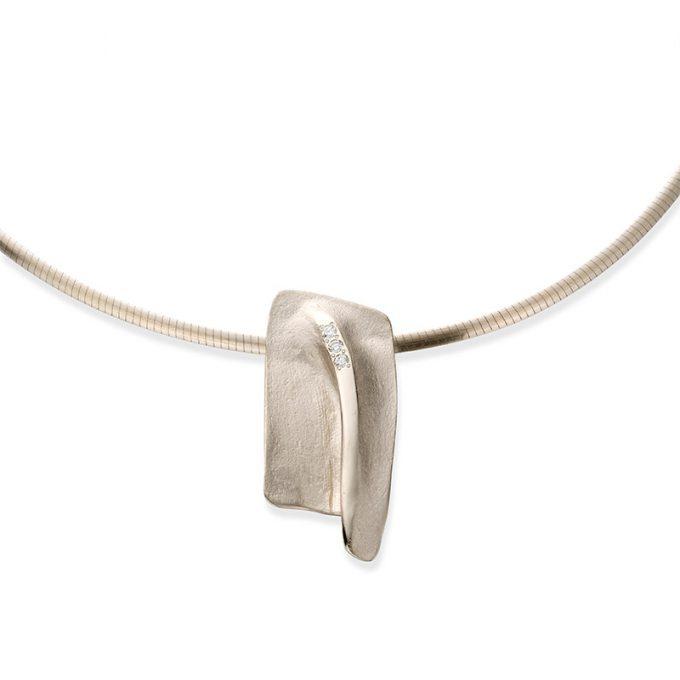 Witgouden halsketting N°26