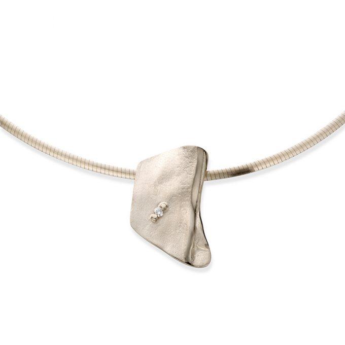 Witgouden halsketting N°29