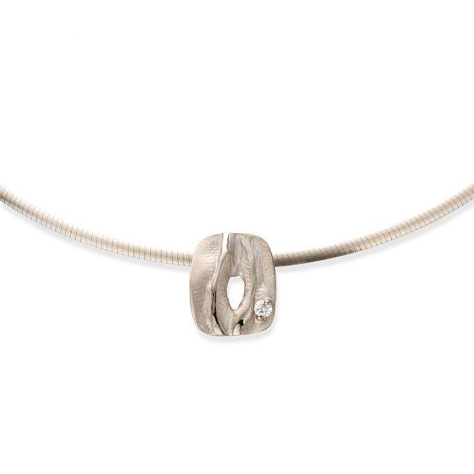 Witgouden halsketting N°33