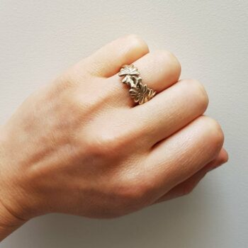 R 148 Witgouden Ring
