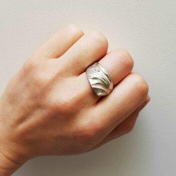 R 246 Zilveren Ring