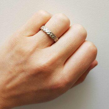 R 247 Zilveren Ring