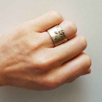 R 247 Witgouden Ring