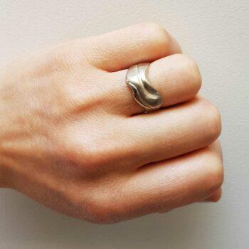 R 249 Zilveren Ring