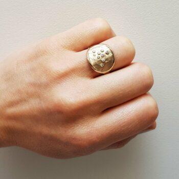 R 256 Witgouden Ring